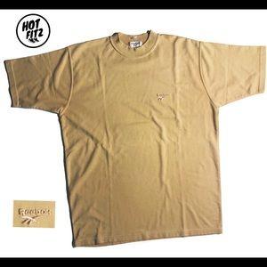 Vintage Reebok cream t shirt 90s XL WOMENS